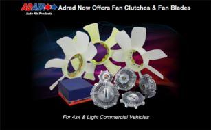 New 2019 Adrad fan clutch and blade range